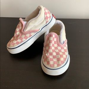 Baby Checkered Vans